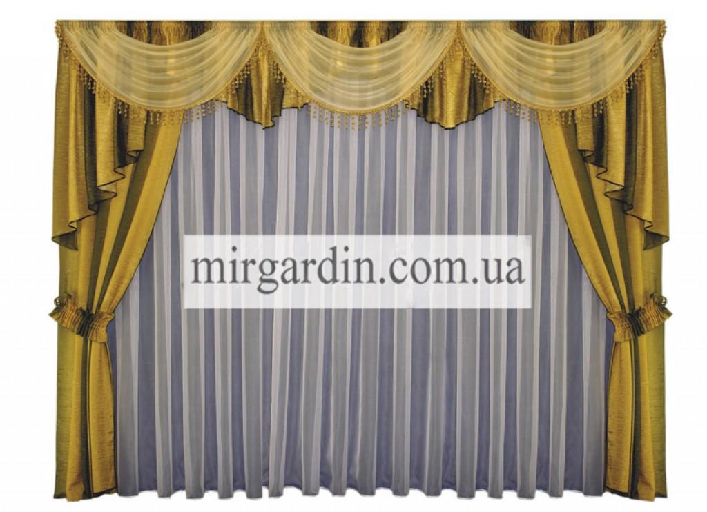 cebc749ce4b Купить Комплект штор № 98А в интернет магазине MirGardin