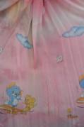 Тюль Детский Том и Джери 2 (розовый)