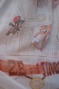 Тюль Детский Том и Джери (бежевый)