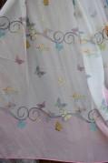 Тюль детский Ханна Монтана (розовый)