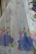Тюль Детский Принцессы (белый)