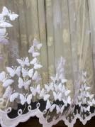Тюль Луиза (белый)