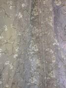 Тюль Сакура  (зеленый)