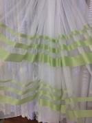 Тюль Рейли (зеленый)