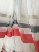 Тюль Рейли (красный)