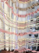 Тюль Камелия (розовый)