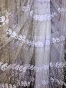 Тюль Латиша (белый)