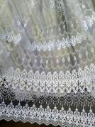 Тюль Дакота (белый)