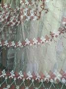 Тюль Тина (красный)