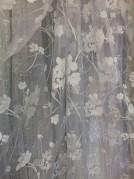 Тюль Сакура (белый)