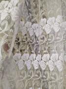Тюль Флора (белый)