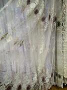 Тюль Жанна (бордовый)