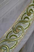 Тюль Анна (зеленый)