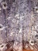 Тюль Милена (серый)