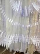 Тюль Аурика (белый)