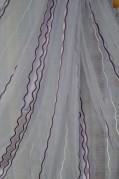 Тюль Кристина (фиолетовый)