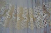 Тюль Юнис (молочно-золотой)