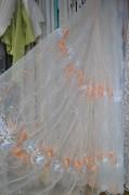 Тюль Лоран (персиковый)