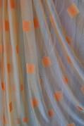 Тюль Мэриен (персиковый)