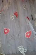 Тюль Аманда (красный)