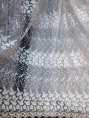 Тюль Наоми (белый)