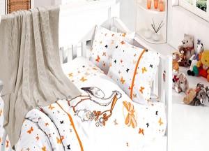 Детское постельное бельё Stork Oranj First Choice Nirvana в кроватку