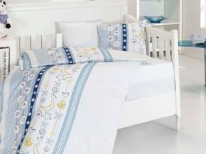 Детское постельное бельё Chick Mavi First Choice Бамбук в кроватку