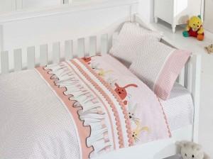 Детское постельное бельё Ginny Pudra First Choice Бамбук в кроватку