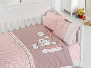 Детское постельное бельё Baby Pudra First Choice Бамбук в кроватку