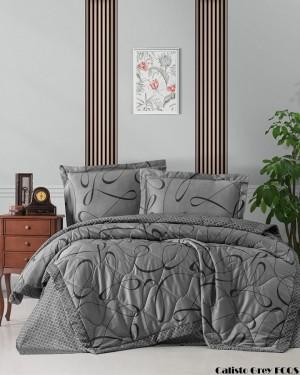 """Летний постельный набор Softness Quilt Set """"Calisto Grey"""""""
