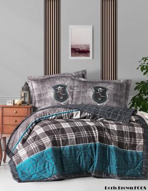 """Летний постельный набор Softness Quilt Set """"Doris Brown"""""""