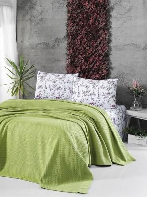 Летний постельный набор Soft Pike Fistik Yesil