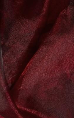 Органза бордовый