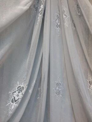 Тюль Милена (белый)