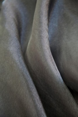 Органза серый