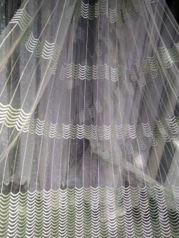 Тюль Кирстен (зеленый)