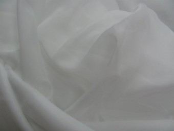 Шифон белый Турция