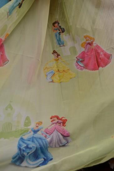 Тюль Детский Принцессы 2 (салатовый)