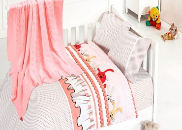 Детское постельное бельё Ginny Pudra First Choice Nirvana в кроватку
