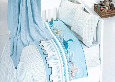 Детское постельное бельё Ginny Mavi First Choice Nirvana в кроватку