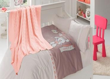 Детское постельное бельё Baby Pudra First Choice Nirvana в кроватку