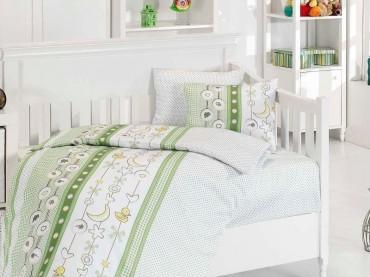 Детское постельное бельё Chick Yesil First Choice Бамбук в кроватку