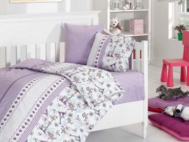 Детское постельное бельё Monkey Lila First Choice Бамбук в кроватку