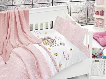 Детское постельное бельё Kitty Pembe First Choice Nirvana в кроватку