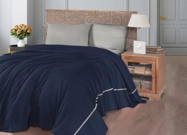 Летний постельный набор Soft Pike Lacivert