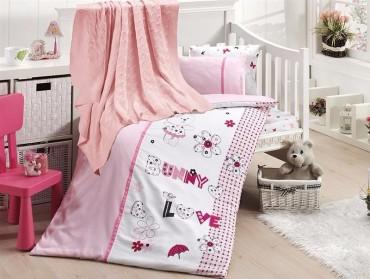 Детское постельное бельё Love Bunny First Choice Nirvana в кроватку