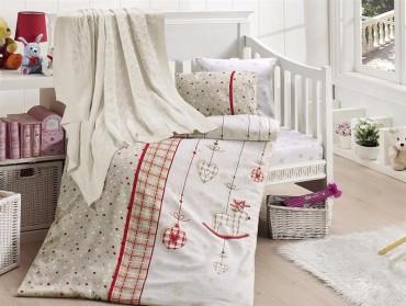 Детское постельное бельё Palmy Kirmizi First Choice Nirvana в кроватку
