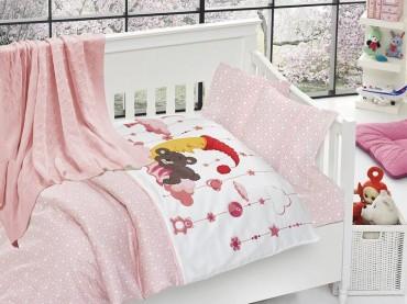 Детское постельное бельё Sleeper Pembe First Choice Nirvana в кроватку