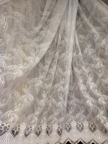 Тюль Лина (белый)