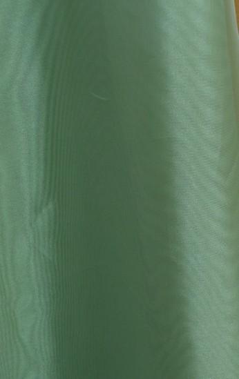 Микровуаль зеленый отрез 2.5 метра уже пошитый